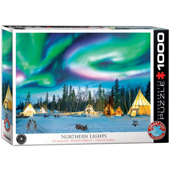 Puzzle Northern Lights - Yellowknife