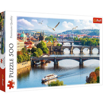 Puzzle Prague - Bridges