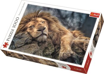 Puzzle Sleeping Lion