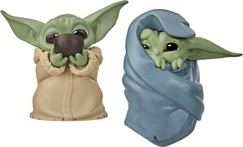 Figurine Star Wars: The Mandalorian - Baby Yoda Collection 2 pcs (Soup & Blanket)