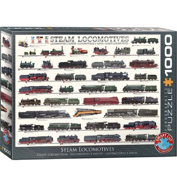 Puzzle Steam Locomotives