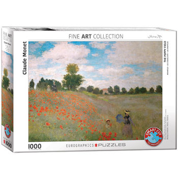 Puzzle The Poppy Field by Monet