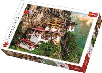 Puzzle Tiger's Nest, Bhutan