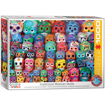 Puzzle Traditional Mexican Skulls