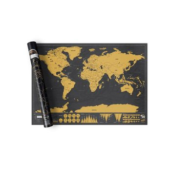 Scratch Map World Deluxe Edition