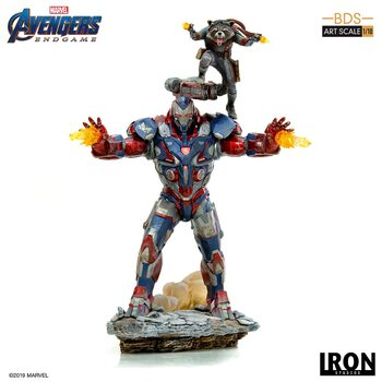 Figuras Avengers: Endgame - Iron Patriot & Rocket