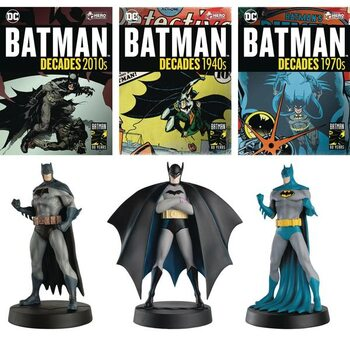 Figuras Batman Decades - Debut, 1970, 2010
