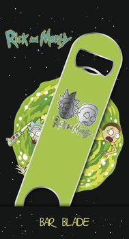 Bottle Opener Rick and Morty - Logo