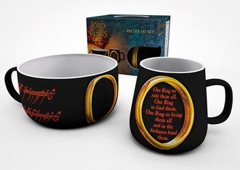 Conjunto de Pequeno-Almoço Lord Of The Rings