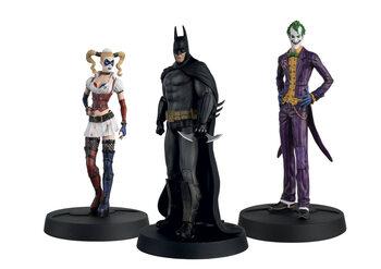 Figuras DC - Arkham Batman, Joker and Harley (Set)