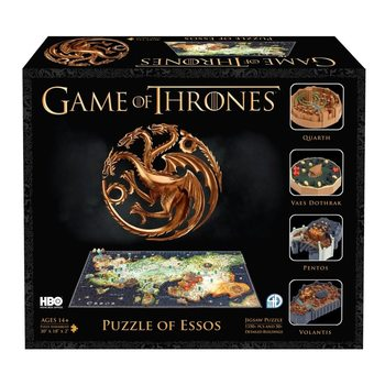 Puzzle  Game of Thrones - Essos 4D Cityscape