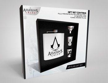 Hip Flask: Gift Set Assassins Creed - Logo