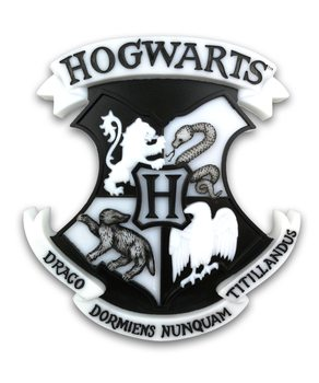 Lâmpada Harry Potter - Hogwarts Shield