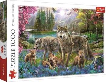 Puzzle Lupine Family