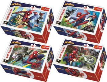Puzzle Marvel - Spiderman 4in1