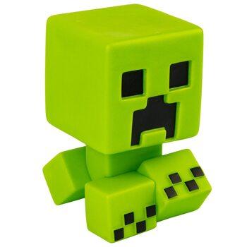 Figuras Minecraft - Creeper Mega Bobble Mobs (Green Glow in the dark)