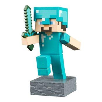 Figuras Minecraft - Diamond Steve Adventure