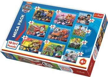 Puzzle Paw Patrol - Team 10in1