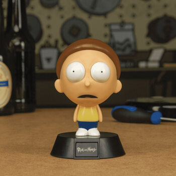 Figura Brilhante Rick & Morty - Morty