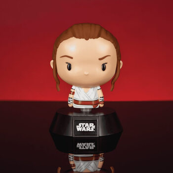 Figura Brilhante Star Wars - Rey