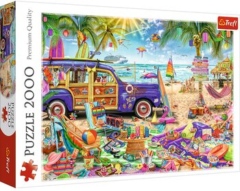 Puzzle Tropical Holidays