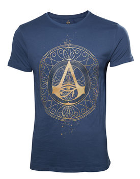 Paita  Assassins Creed - Origins Golden Crest T-shirt