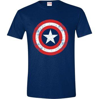 Paita Captain America - Cracked Shield