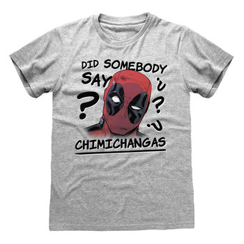 Paita Deadpool - Chimichangas
