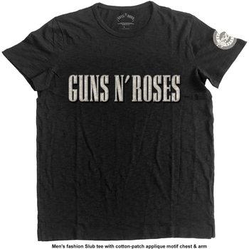 Paita Guns N Roses - LOGO & BULLET CIRCLE