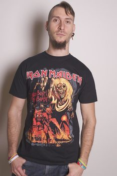 Paita Iron Maiden - Number of the Beast