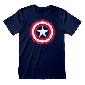 Paita Marvel Comic - Captain America Shield