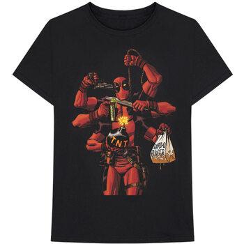 Paita Marvel - Deadpool Arms