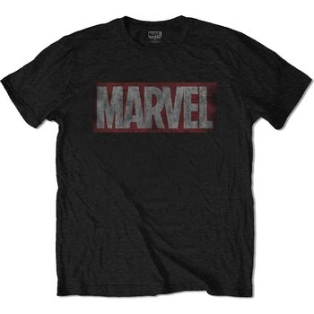 Paita  Marvel - Distressed Marvel Box Logo
