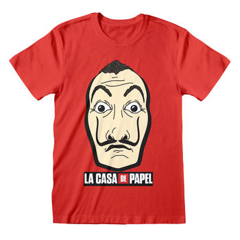 Paita Money Heist (La Casa De Papel) - Mask And Logo