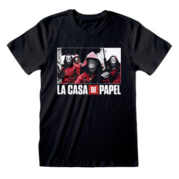 Paita Money Heist (La Casa De Papel) - Photo And Logo