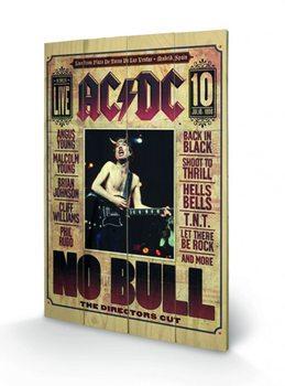 AC/DC - No Bull Panneaux en Bois