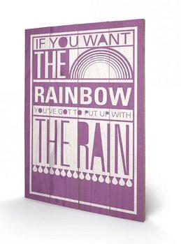 Sarah Winter - Rainbow Panneaux en Bois