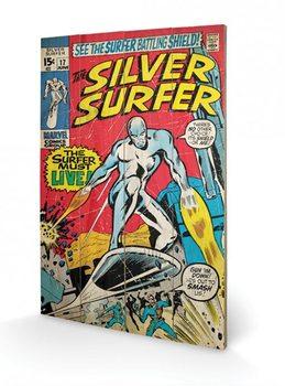 Silver Surfer - Must Live Panneaux en Bois
