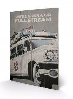 SOS Fantômes - EctoMobile Panneaux en Bois