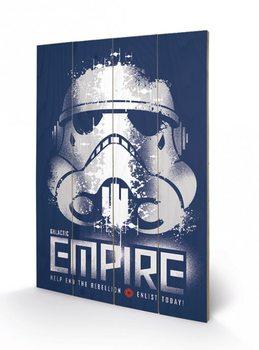 Star Wars Rebels - Enlist Panneaux en Bois