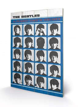 The Beatles - A Hard Day's Night Panneaux en Bois