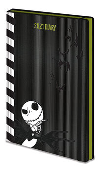 Papelaria Diary 2021 - Nightmare Before Christmas (EN)