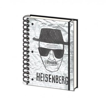 Papelaria Breaking Bad - Heisenberg A5