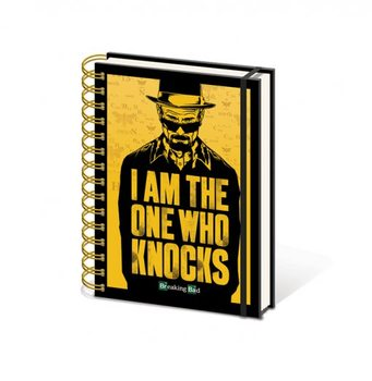 Papelaria Breaking Bad - I am the one who knocks A5