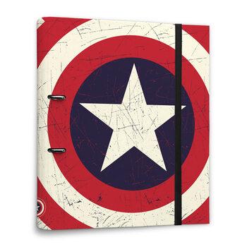 Papelaria Captain America - Shield