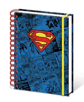 Papelaria Dc Comics A5 Notebook - Superman