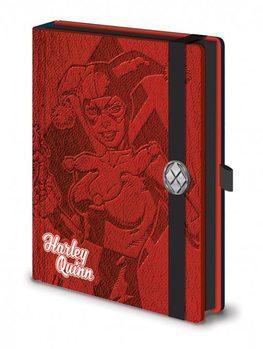 Papelaria DC Comics - Harley Quinn Premium A5 Notebook