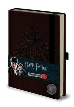 Papelaria Harry Potter - Hogwart's Crest Premium A5 Notebook
