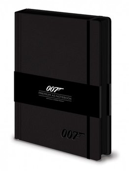 Papelaria James bond - 007 Logo  Premium A5 Notebook