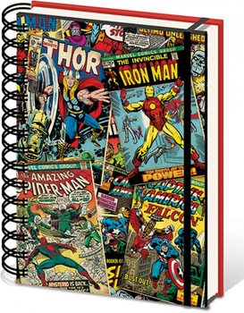Papelaria Marvel A5 Notebook - Lenticular